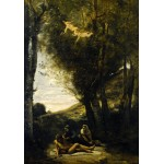 Puzzle   Jean-Baptiste-Camille Corot : Saint Sebastian Succored by the Holy Women, 1874