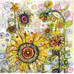 Puzzle   Sally Rich - Sunflowers