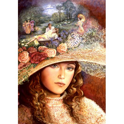 Puzzle Grafika-T-00019 Grandmother's Hat