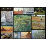 Puzzle  Grafika-T-00050 Claude Monet - Collage