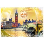 Puzzle  Grafika-T-00197 Travel around the World - Royaume Uni