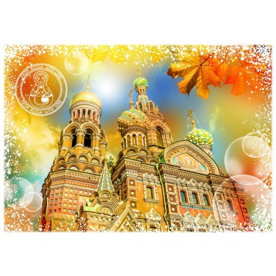 Puzzle Grafika-T-00214 Travel around the World - Russie