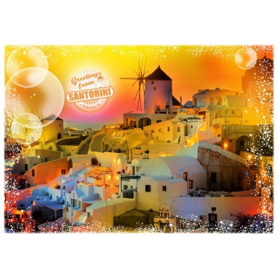 Puzzle Grafika-T-00219 Travel around the World - Grèce