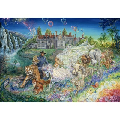 Puzzle Grafika-T-00264 Josephine Wall - Fantasy Wedding