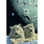 Puzzle  Grafika-T-00422 Schim Schimmel - Lair of the Snow Leopard
