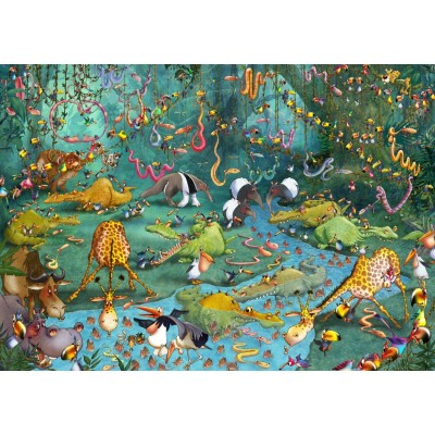 Puzzle Grafika-T-00486 François Ruyer - Jungle
