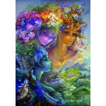 Puzzle  Grafika-T-00631 Josephine Wall - The Three Graces