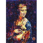 Puzzle  Grafika-T-00890 Leonardo da Vinci: Lady with an Ermine, by Sally Rich