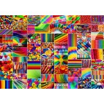 Puzzle  Grafika-T-00916 Collage - Couleurs
