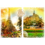 Puzzle   Travel around the World - France