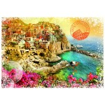 Puzzle   Travel around the World - Italie