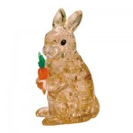 3D Crystal Puzzle - Lapin