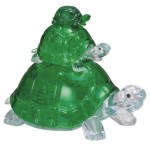 3D Crystal Puzzle - Tortues
