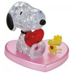 Puzzle 3D en Plexiglas - Snoopy in Love