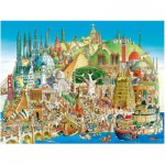 Puzzle  Heye-29634 Hugo Prades : Global City