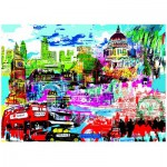 Puzzle  Heye-29682 Kitty McCall : I Love London!