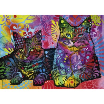 Puzzle Heye-29864 Dean Russo - Devoted 2 Cats