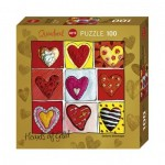 Puzzle  Heye-70858-29765 Stefanie Steinmayer - Hearts of Gold - All the 9