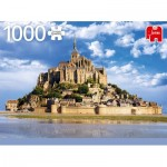 Puzzle  Jumbo-18848 Mont Saint-Michel, France