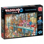 Puzzle  Jumbo-25006 Wasgij Mystery 21 - Trouble Brewing