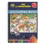 Jan Van Haasteren - Livre de Coloriages - Volume 1