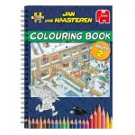 Jan Van Haasteren - Livre de Coloriages - Volume 2