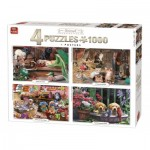 4 Puzzles - Animal Collection