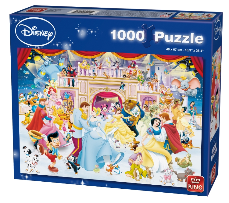 puzzle disney holiday on ice king puzzle 05180 1000 pi ces. Black Bedroom Furniture Sets. Home Design Ideas