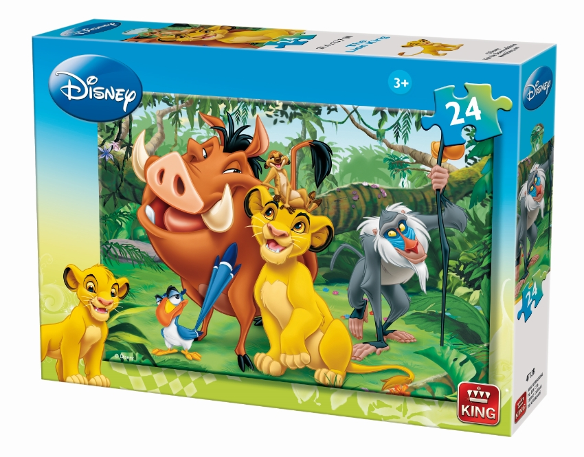 puzzle le roi lion king puzzle k04713 b 24 pi ces puzzles le roi le lion planet 39 puzzles. Black Bedroom Furniture Sets. Home Design Ideas
