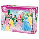 Puzzle  King-Puzzle-05160-A Disney Princesses