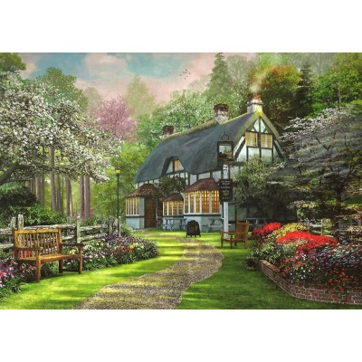 Puzzle King-Puzzle-05356 Cottage Pub