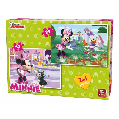 King-Puzzle-05414 2 Puzzles - Minnie