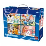 King-Puzzle-05506 4 Puzzles - Animal Friends Disney
