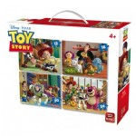 King-Puzzle-05507 4 Puzzles - Toy Story