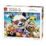 Puzzle  King-Puzzle-05701 Beach Party Selfie