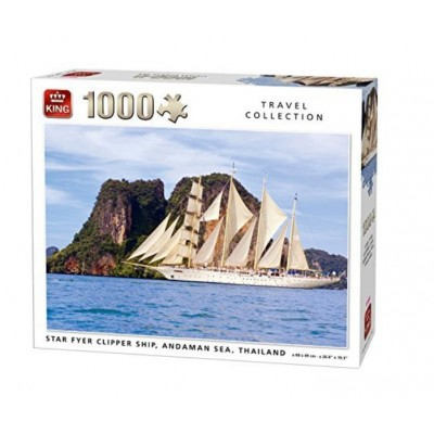 Puzzle King-Puzzle-05713 Star Fyer Clipper Ship