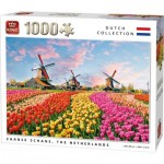 Puzzle  King-Puzzle-05722 Zaanse Schans The Nederlands