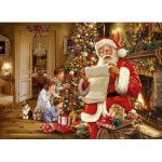 Puzzle  King-Puzzle-05767 Christmas Santa List