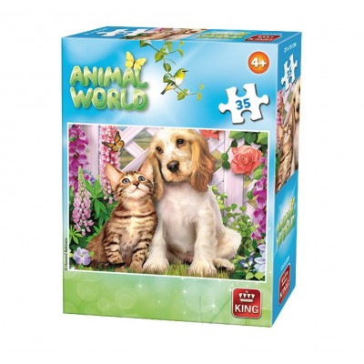 Puzzle King-Puzzle-05774-B Animal World
