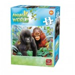Puzzle  King-Puzzle-05774-E Animal World