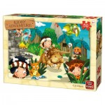 Puzzle  King-Puzzle-05792 Kiddy Adventure - Homme des Cavernes