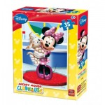 King-Puzzle-5166-E Mini Puzzle - Mickey Mouse Club House