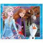 King-Puzzle-55824 Puzzle Géant - La Reine des Neiges