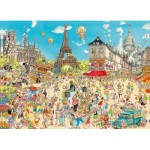Puzzle  King-Puzzle-55843 Comic Collection - Paris