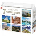 King-Puzzle-55877 7 Puzzles - 7 Wonders of The World