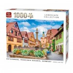 Puzzle  King-Puzzle-55883 Rothenburg Allemagne