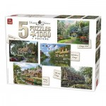 King-Puzzle-85532 5 Puzzles - Dominic Davison: Cottage