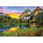 Puzzle  KS-Games-23502 Alpine Lake