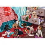 Puzzle   Puppies in the Bedroom