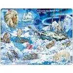 Larsen-NB7-GB Puzzle Cadre - Towards the North Pole (en Anglais)
